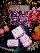Bath Fizzies Natural Oils 4 Wrapped Cubes