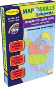 Map Skills: North America Iwb