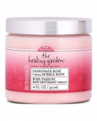 The Healing Garden Cream Bubble Bath - Passionate Rose