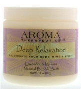 Aroma Therapeutics Deep Relaxation Natural Bubble Bath, Lavender & Melissa, 410ml