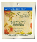Nature'S Alchemy Breathe Deep Each Aromatherapy Mineral Baths