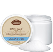Cold n Flu Therapeuic Mineral Bath Salt - 150ml Made with Pure Essential Oils