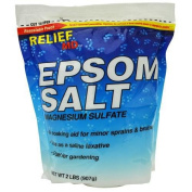Relief MD Epsom Salt in a Resealable Bag 2 lb