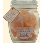 Himalayan Salt Sole Salt Chunks in Jar - 470ml
