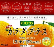 Karada Plus Fresh Yuzu Citrus Scent Bath Salts from Bathclin