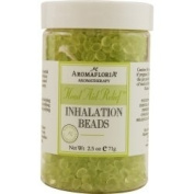 HEAD AID RELIEF by Aromafloria INHALATION BEADS 70ml BLEND OF TEA TREE, ROSEMARY, AND PEPPERMINT