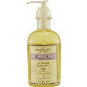 STRESS LESS by Aromafloria BATH AND BODY MASSAGE OIL 270ml BLEND OF LAVENDER, CHAMOMILE, AND SAGE ST