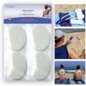 Sponge-Ables 8-Pack for Body-Reach+ Bendable Lotion Applicators