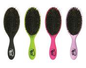 The Shine Brush - The Wet Brush Rubberized Wet Detangle Shower Brush with Boar Bristle Blend