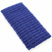 Aisen Rough Texture Japanese Nylon Body Towel, Blue