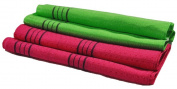 Skyroad Top Quality Exfoliating Bath Back Scrub (Long Viscose Towel) -2 items per package-