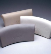 Jacuzzi H682958 Small Curved Bath Pillow 10cm x 23cm ,Almond