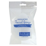 Body Benefits Exfoliating Facial Sponge -- 1 Sponge
