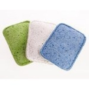 Full Circle Home LLC - Full Circle Flip Loofah Sponge 3pk - Colours, 3 sponges