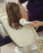 Hair Washing Tray Shoulder Mounted Shampoo Tray
