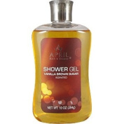 April Bath & Shower Vanilla Brown Sugar Shower Gel 300ml