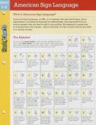 American Sign Language Flashcharts