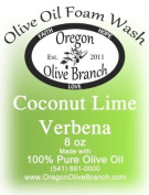 Coconut Lime Verbena Olive Oil Foam Wash 8 oz. (260Ml) Pump