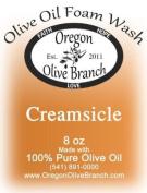 Creamsicle Olive Oil Foam Wash 8 oz. (260Ml) Pump