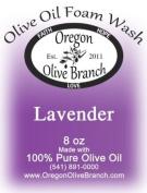 Lavender Olive Oil Foam Wash 8 Oz. (260ml) Pump