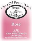 Rose Olive Oil Foam Wash 8 Oz. (260ml) Pump