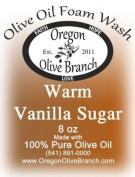 Warm Vanilla Sugar Olive Oil Foam Wash 8 Oz. (260ml) Pump