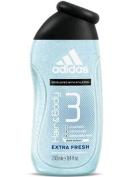 Adidas Hair & Body Wash Extra Fresh Bath And Shower Gels
