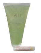 Om She Exfoliating Body Wash + Vegan Organic Lip Balm in Spearmint