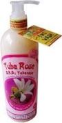 Hawaiian Bubble Shack 13cm 1 Aloe & Shea Body Wash Tuba Rose Tuberose 2 Bottles