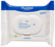 Mustela Facial Cleansing Cloths 25 Cloths