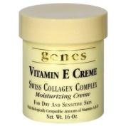 Genes Vitamin E Creme Swiss Collagen Complex Moisturising Creme for Dry and Sensitive Skin 470ml