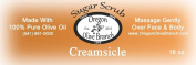 Creamsicle Exfoliating Body Scrub 1lb 240ml Net Wt.