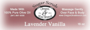 Lavender Vanilla Exfoliating Body Scrub 1lb 240ml Net Wt.
