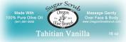 Tahitian Vanilla Exfoliating Body Scrub 1 Lb 240ml Net Wt.