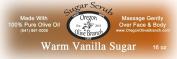 Warm Vanilla Sugar Exfoliating Body Scrub 1 Lb 240ml Net Wt.