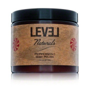 Level Naturals Peppermint Shea Butter Body Polish 470ml