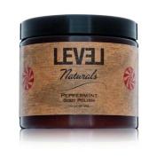 Level Naturals Peppermint Shea Butter Body Polish 470ml