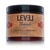 Level Naturals Grapefruit Bergamot Shea Butter Body Polish 470ml