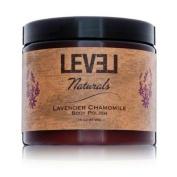 Level Naturals Lavender Chamomile Shea Butter Body Polish 470ml