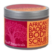 Planet Botanicals Foaming Body Scrub, Baobab, 120ml
