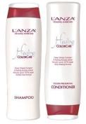 L'Anza Healing Colour Care Colour Preserving 300ml Shampoo + 250ml Conditioner