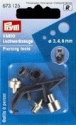 PRYM 673125 VARIO piercing tools for VARIO pliers, 1 set