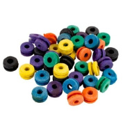 100 colour Rubber Tattoo Needle Machine Grommets Nipple