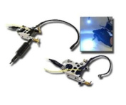 Adjustable Tattoo Machine Mounted LED GUN LIGHT kit new