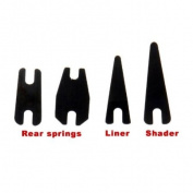 TOMTOP 1 Pair Shader Springs & 1 Pair Liner Springs for Tattoo Machine