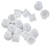 Getbetterlife 100 Plastic Tattoo Large Small Ink Holder Cups/caps Supplies Kit