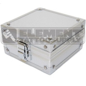 Silver Aluminium Machine Case Element Tattoo Supply Gun