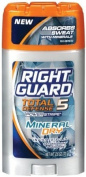 Right Guard Total Defence 5 Powerstripe Antiperspirant/Deodorant Mineral Dry Scent