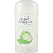 Soft Whisper Cucumber Tea Deodorant - Anti Perspirant, 60ml,