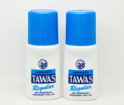2 Natures Tawas Anti-Perspirant Deodorant Roll-on 2 x 50ml